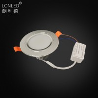 Chinese Supplier Recessed LED Downlight Aluminum Case --Lonled
