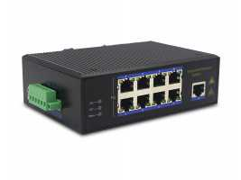 100M 9-port Industrial-grade Ethernet Switch