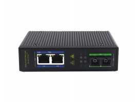 1 Fiber Port 2 Electric Port Gigabit Industrial-grade Ethernet Switch