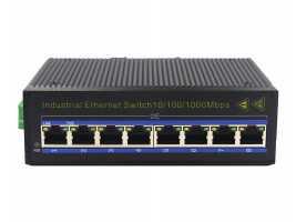 Gigabit 8-port Industrial-grade Ethernet Switch