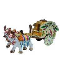 Meenakari Dolly Cart