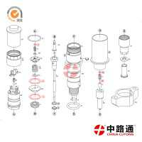 0445120238 Bosch Diesel Fuel Injector