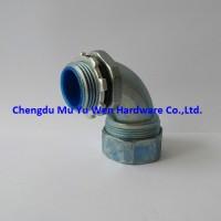90 degree liquid tight zinc die cast conduit fittings
