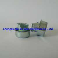 Zinc plated steel ferrule split/flared type