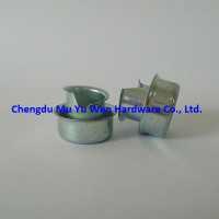 Zinc plated steel ferrule split/flared type