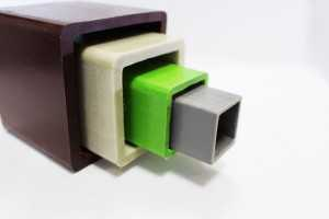 Square tube (Glass fiber reinforced structural profiles)