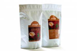 Arabica Robusta  Roasted Coffee Bean