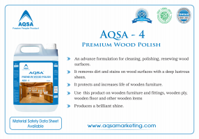 Premium Wood Polish (AQSA - 4)