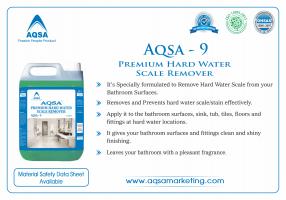 Premium Hard Water Scale Remover (AQSA-9)