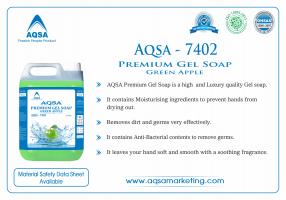 Premium Gel Soap Green Apple (AQSA – 7402)