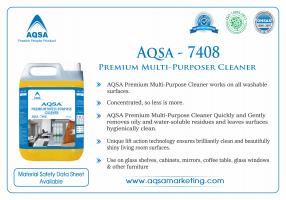 Premium Multi-Purpose Cleaner (AQSA – 7408)