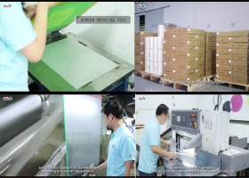 Hot peel matte heat transfer PET film for heat press printing machines