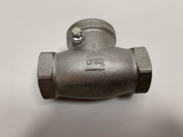 CS-CH01T Stainless Steel Female Thread End Horizontal Check Valve