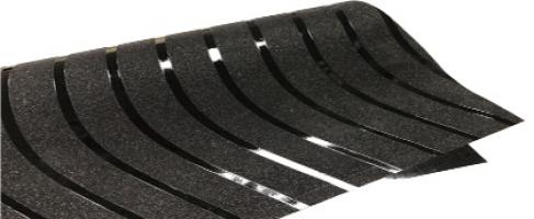 Glitter 3D window film self adhesive vinyl Black design