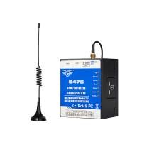 Dual-Sim Cellular IoT RTU (8DIN,6AIN/PT100,4Relay,1TH,USB,2 RS485,320