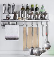 Multi-purposes kitchen rack