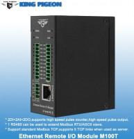M100T Ethernet Remote IO Module (2DIN+2AIN+2DO)