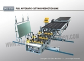 Glass cutting line
