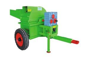 Agricultural shredder machines