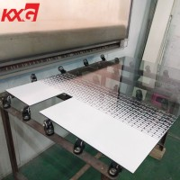 13.52mm silkscreen printing decorative tempered laminated safety glass