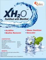 XH2O Water Sanitizer Descaler Biofilm Remover Acidifier