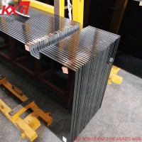 building glass factory produce safety 8mm dark gray tempered glass