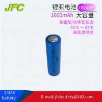 ER14335 Battery 3.6V 1600mAh  2/3AA Li-SOCI2