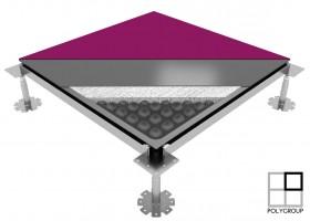 Raised Access Floor Polygroup Gamaflor Full Steel