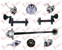 High quality trailer electric/hydraulic/mechanical brakes