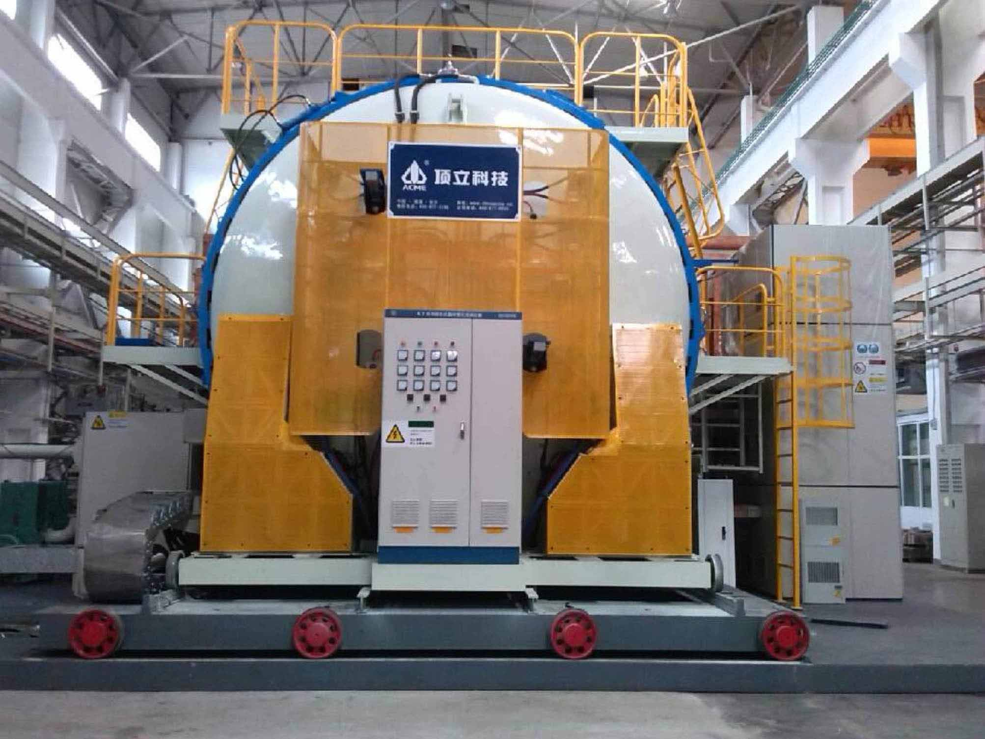Horizontal Vacuum Graphitization Furnace