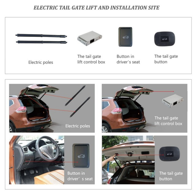 Smart Auto Electric Tail Gate Lift for KIA KX5 KIA Sportage Control Set Height Avoid Pinch