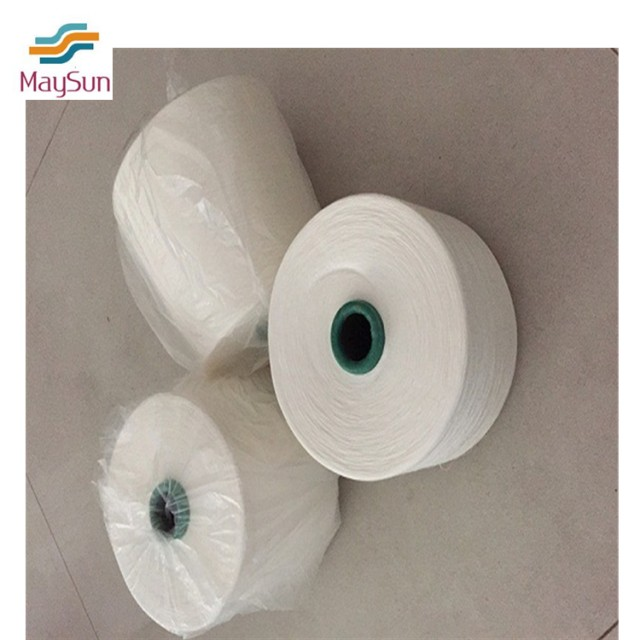100% polyester yarn for sewing and weaving