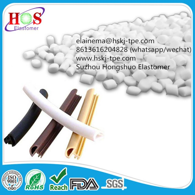 Thermoplastic tpe for window and door seals