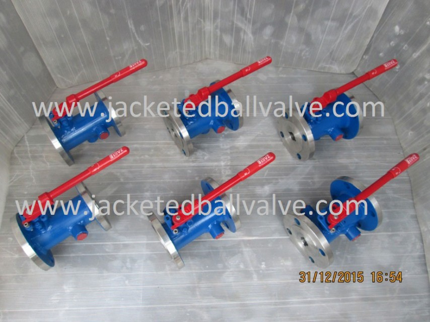Metal Seated Jacketed Ball Valve