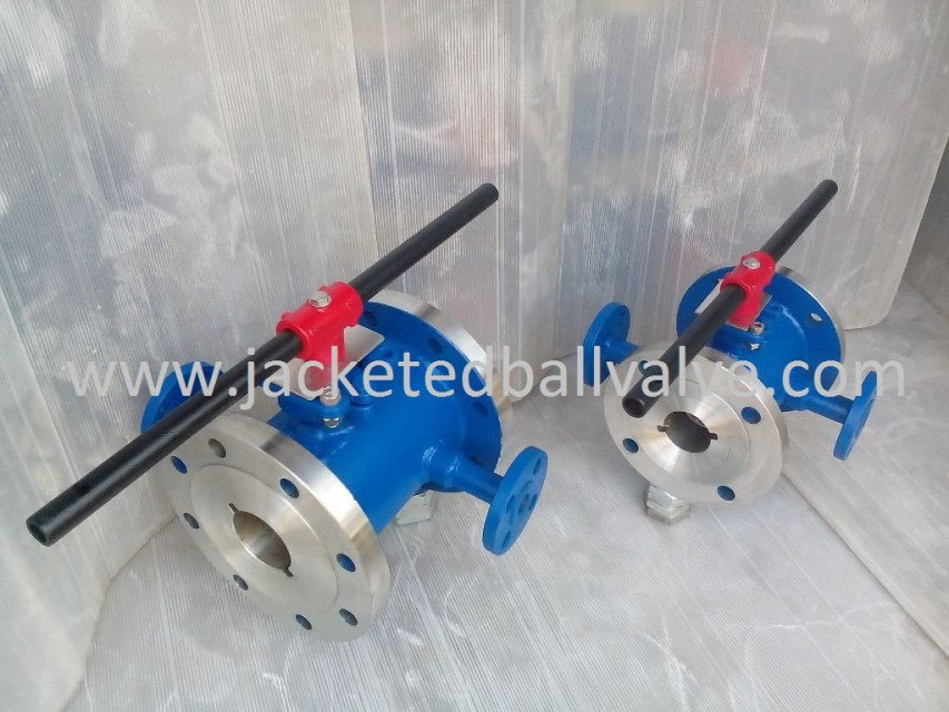 INDUSTRIAL JACKETED VALVE
