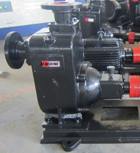 ZW Self priming sewage pump/trash pump