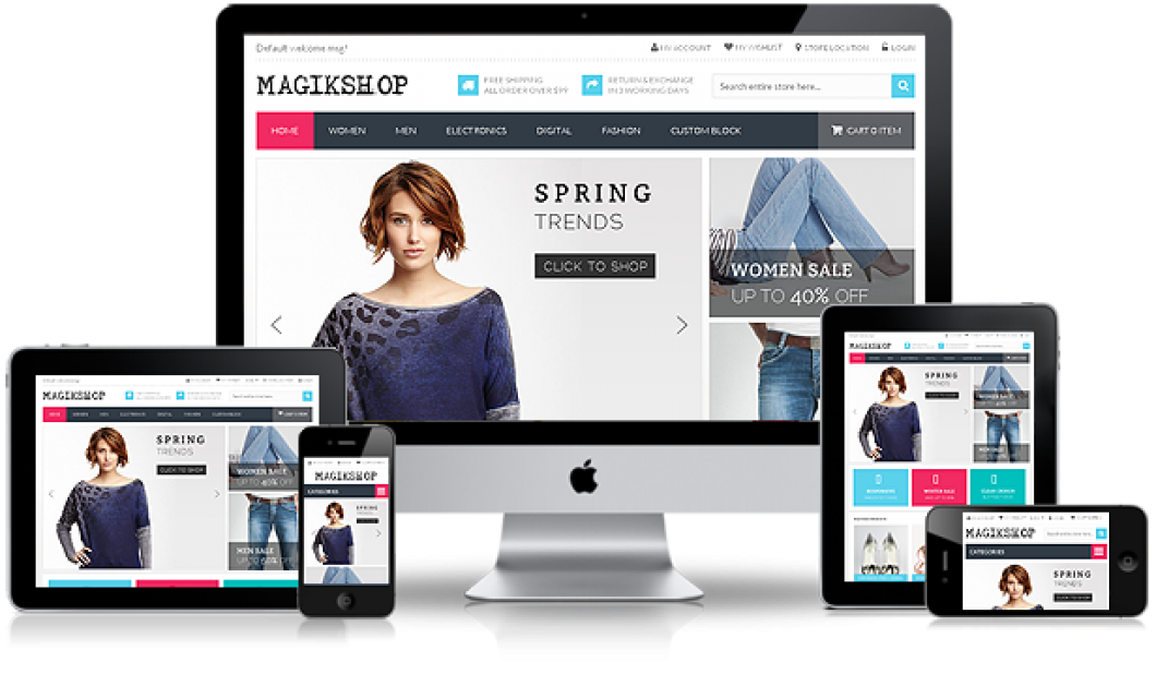 Make an eCommerce website