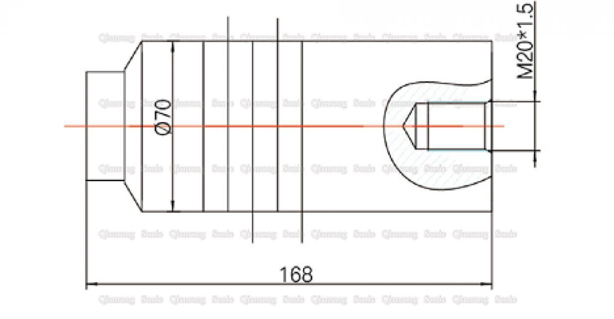 15Khz Ultrasonic Transducer for Plastic Welding Machine