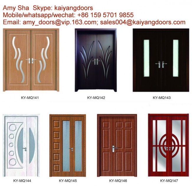 Solid wood door,interior door,pvc mdf door