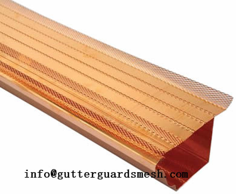 Shingle gutter guard