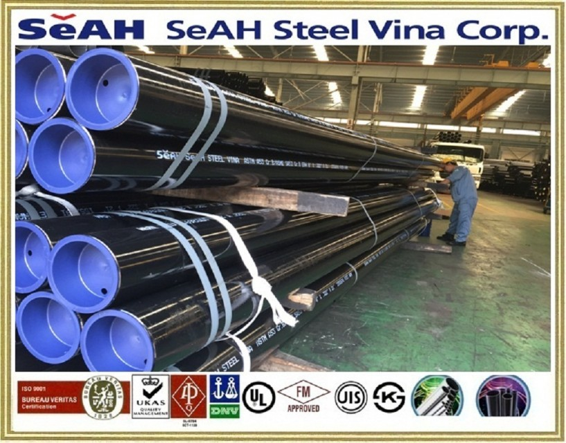 Steel pipe - SEAH Steel Pipe - Black steel pipe
