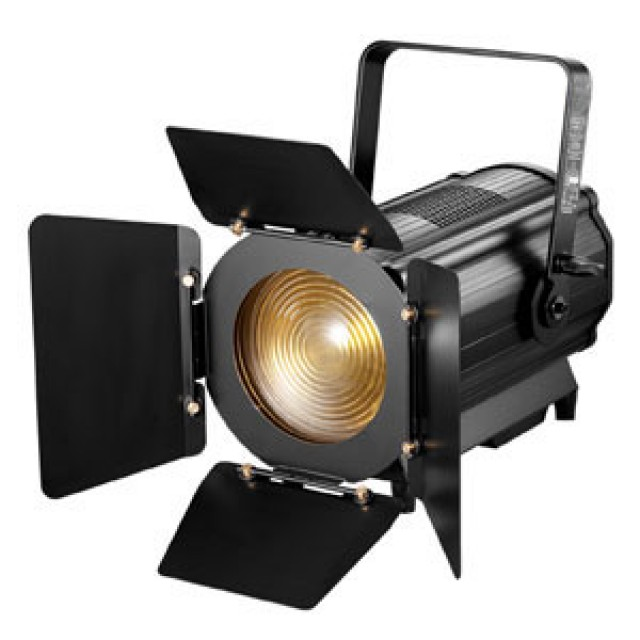 Theatrical Lighting, LED Fresnel Zoom Spot Light