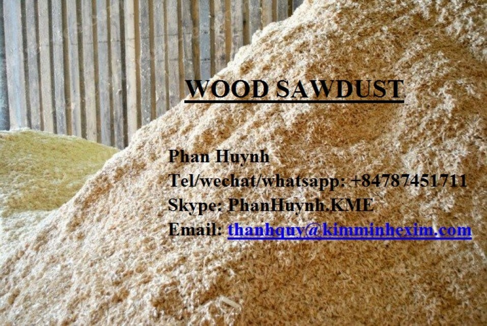 WOOD SAWDUST from VIETNAM