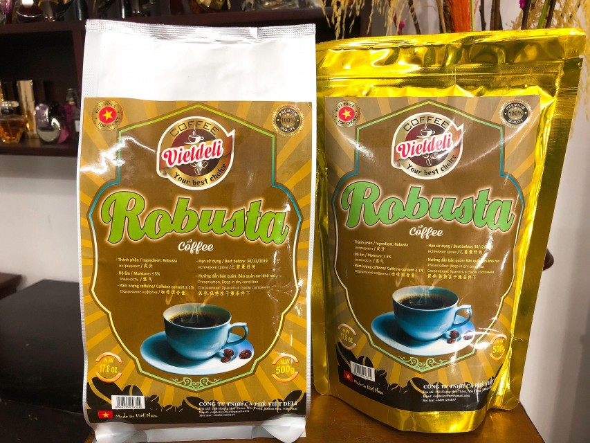 Sell ROBUSTA ROASTED COFFEE BEANS