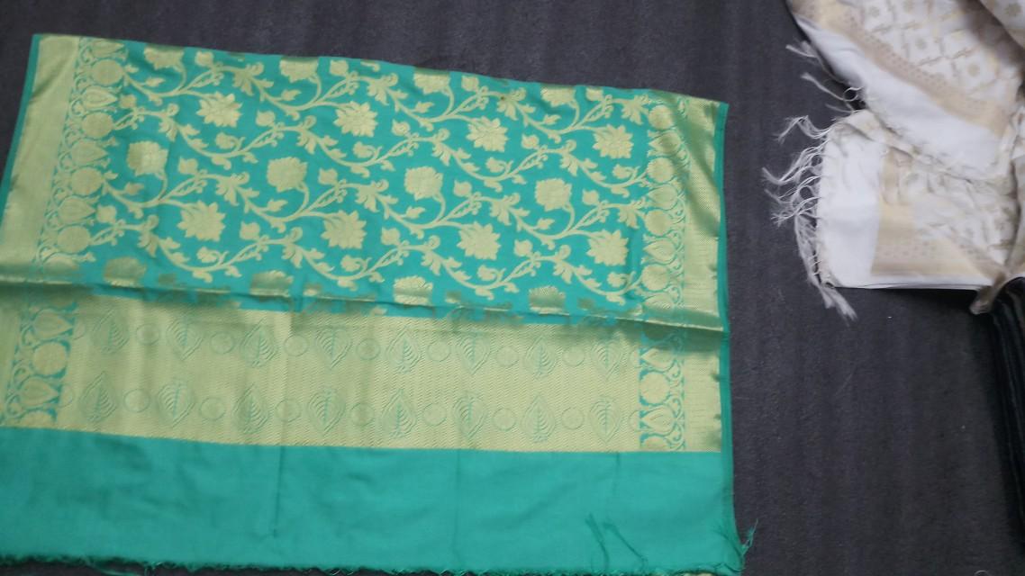 Banarasi saree and dupatta