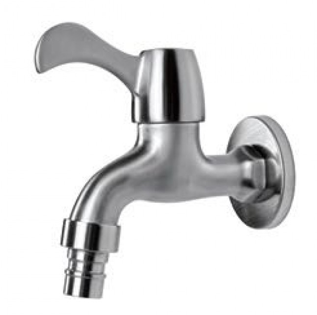Faucet Wall Mounted Single Cold Water Tap