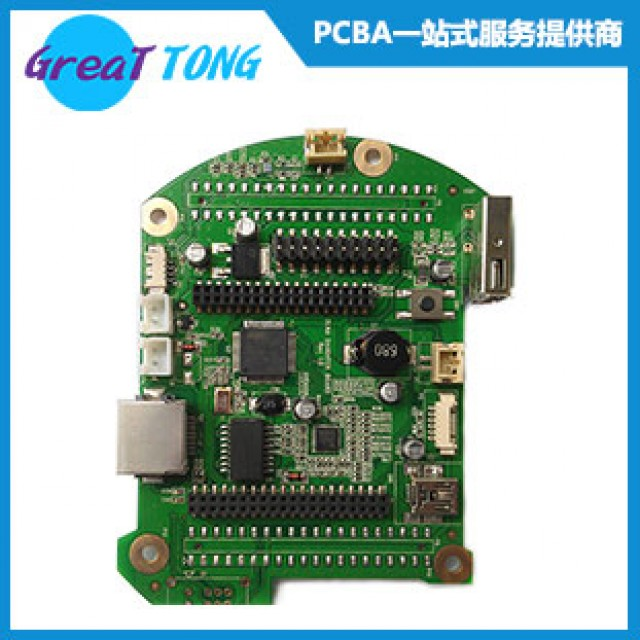 Industrial Control Rapid Turnkey PCB Assembly-Shenzhen Grande
