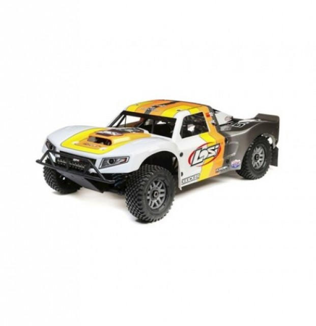 Losi 5IVE-T 2.0 1/5 Bind-N-Drive 4WD Short Course Truck (Grey/Orange/White)