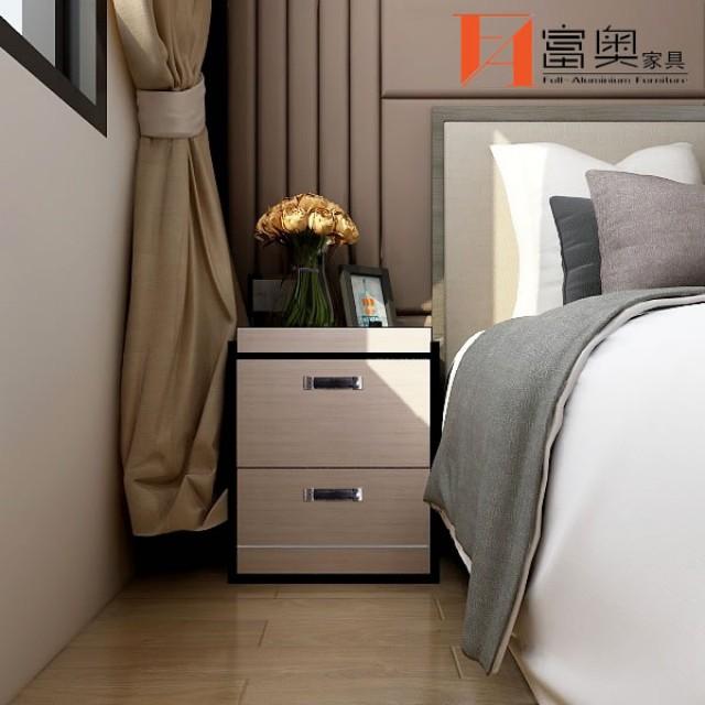 Bedroom Furniture All Aluminum Bedside Table