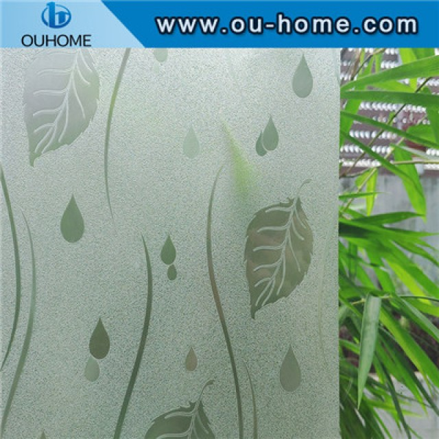 H17206 Static Frosted Self Adhesive Window Sticker